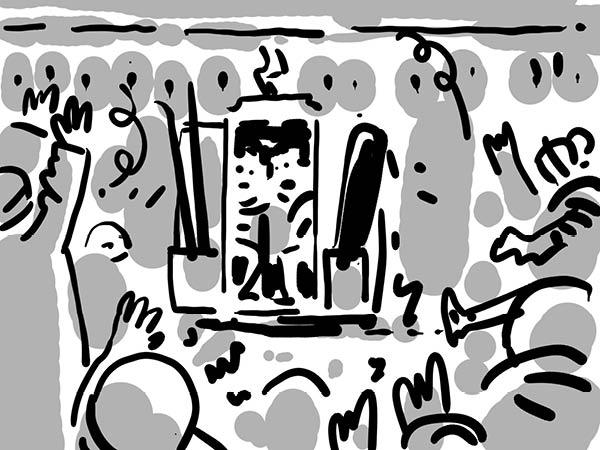 Bild aus Storyboard, Scheiaweia, Jubel & Trubel